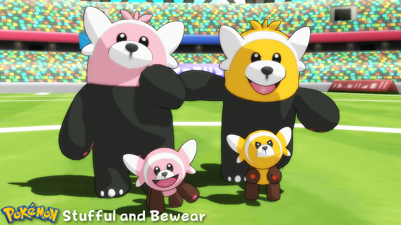 (MMD Model) Stufful and Bewear Download