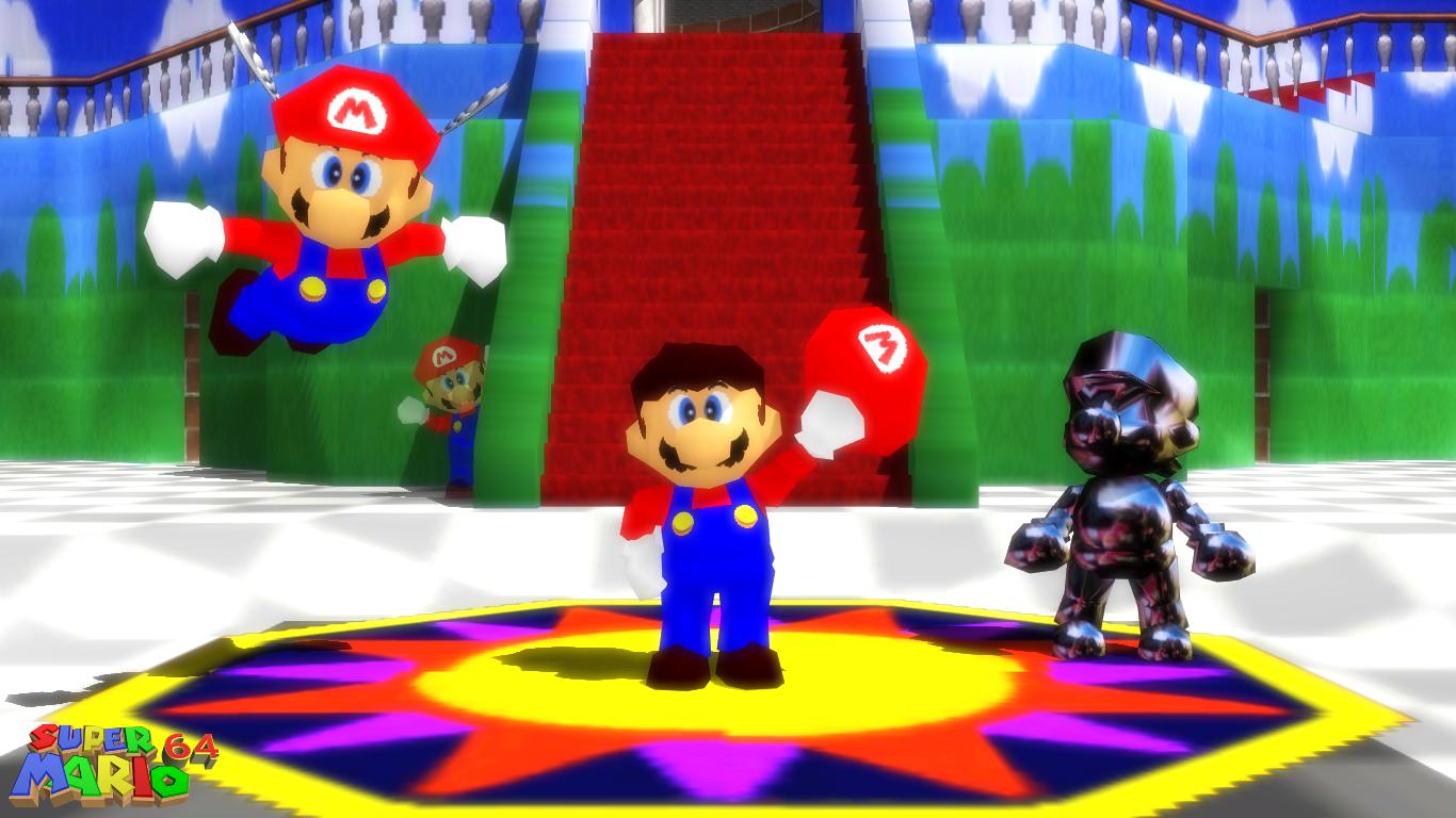 MMD Model) Super Mario 64 Download by SAB64 on DeviantArt