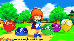 (MMD Model+Stage) Arle Nadja and Puyo Download