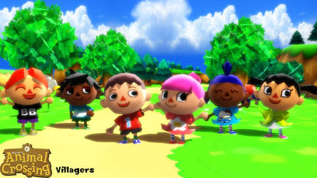 (MMD Model) Villagers Download