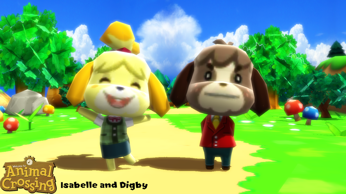 Siblings isabelle and digby