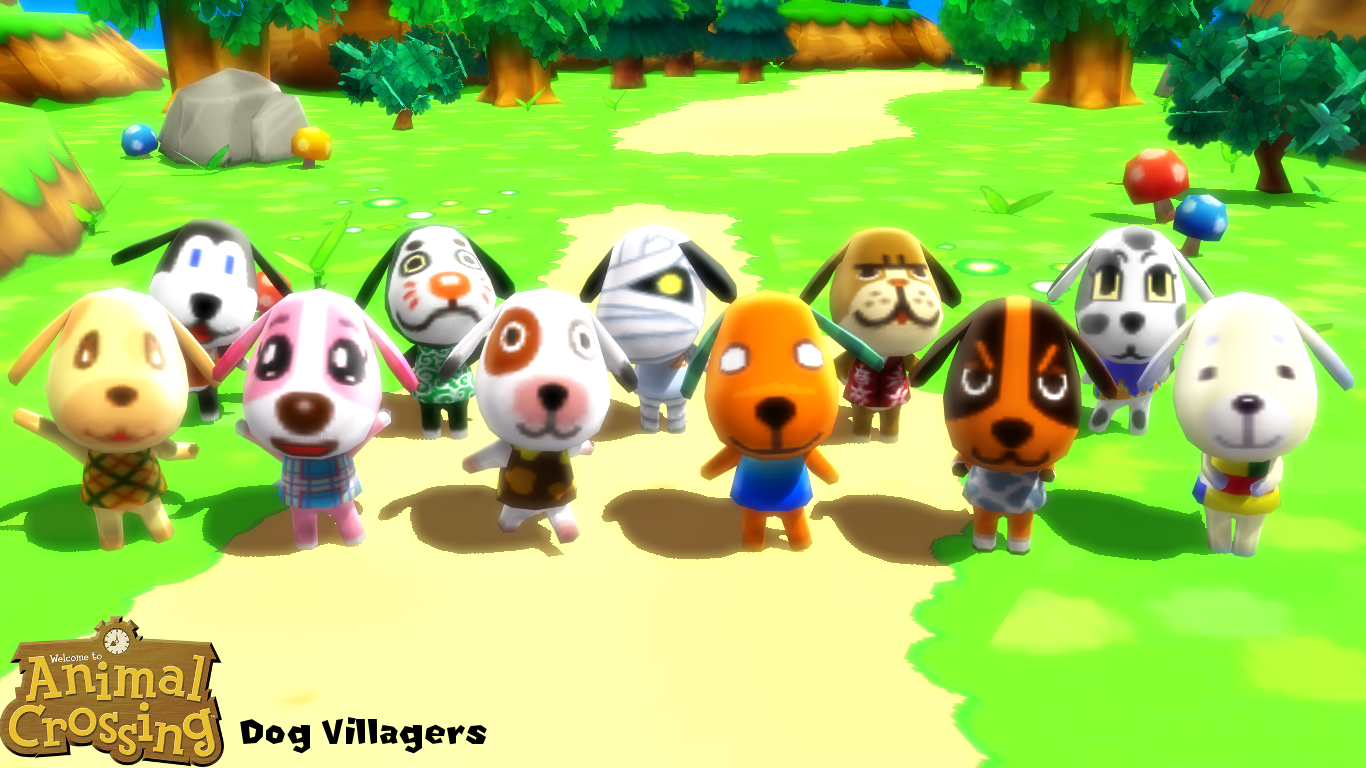 Mmd Model Dog Villagers Download By Sab64 On Deviantart