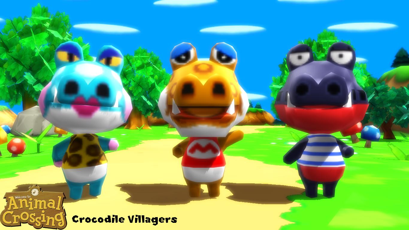 Mmd Model Crocodile Villagers Download By Sab64 On Deviantart