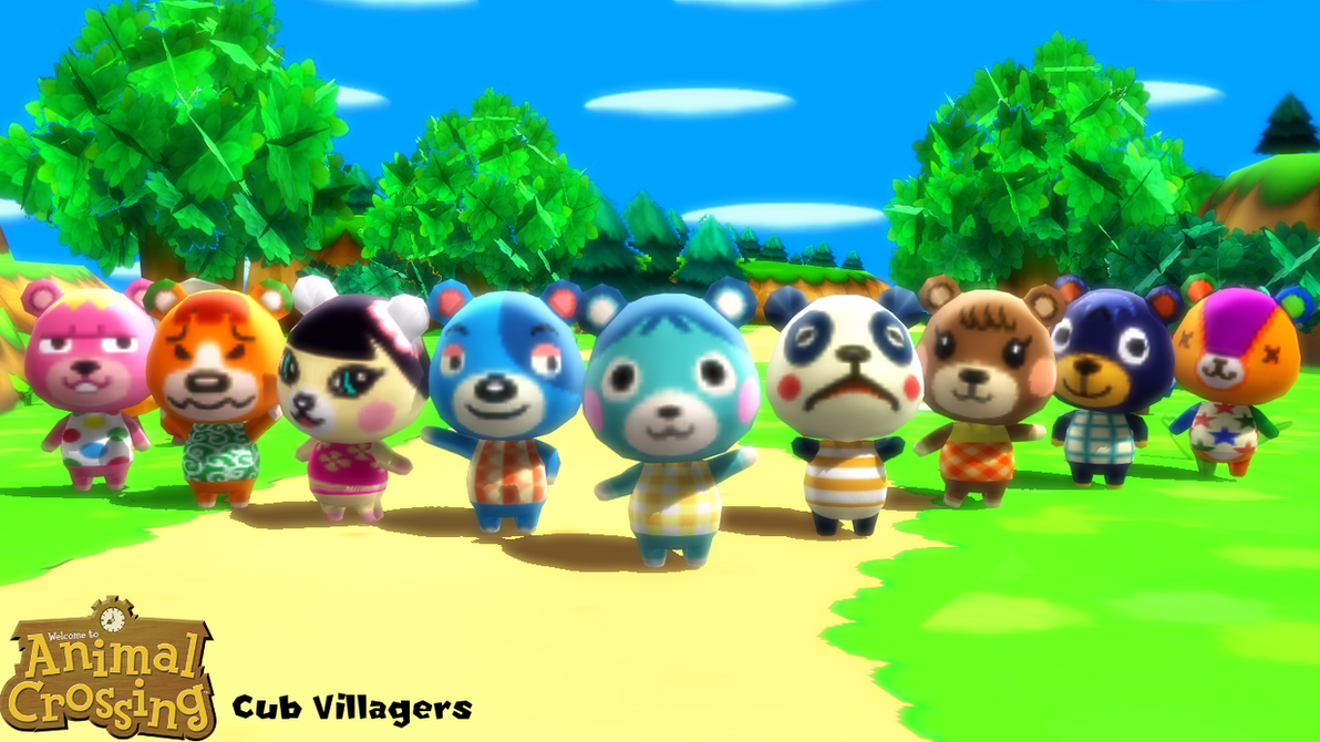 (MMD Model) Cub Villagers Download by SAB64 on DeviantArt