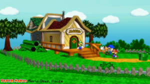 (MMD Stage) Mario Bros. House Download by SAB64