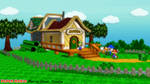 (MMD Stage) Mario Bros. House Download