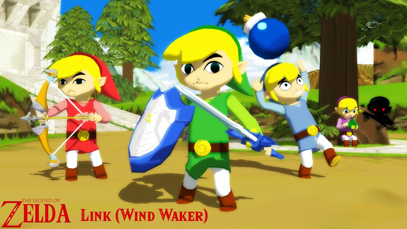 MMD/XPS Model) Link (Wind Waker) Download by SAB64 on DeviantArt
