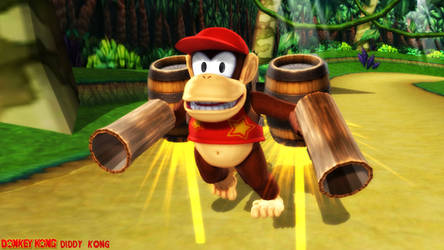 (MMD Model) Diddy Kong Download