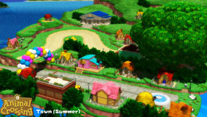 (MMD Stage) Town - Summer Download by SAB64