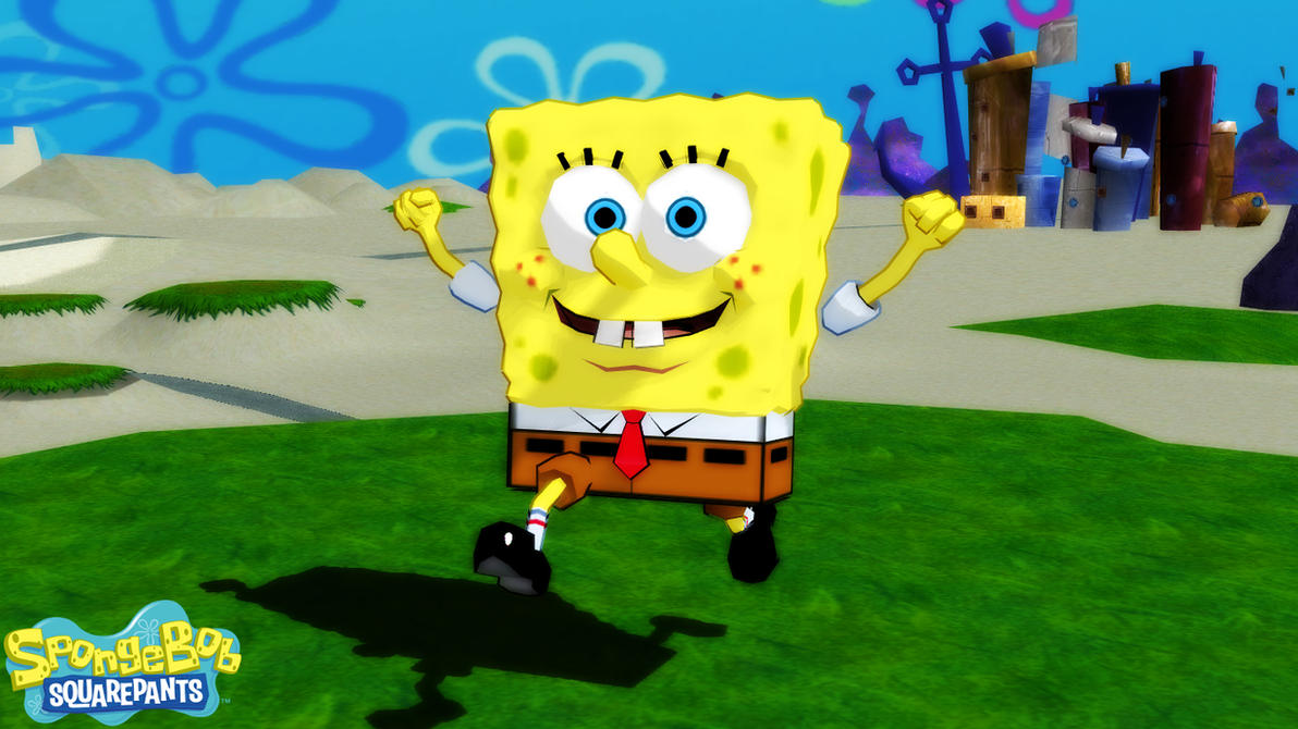 mmd/xps model) spongebob squarepants downloadsab64 on deviantart