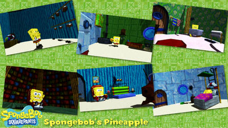 (MMD/XPS Stage) Spongebob's Pineapple Download