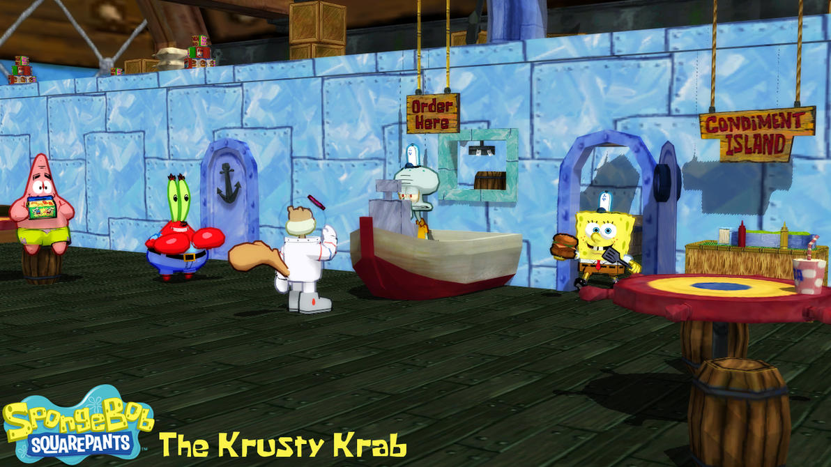 MMD Stage) The Krusty Krab Download by SAB64 on DeviantArt