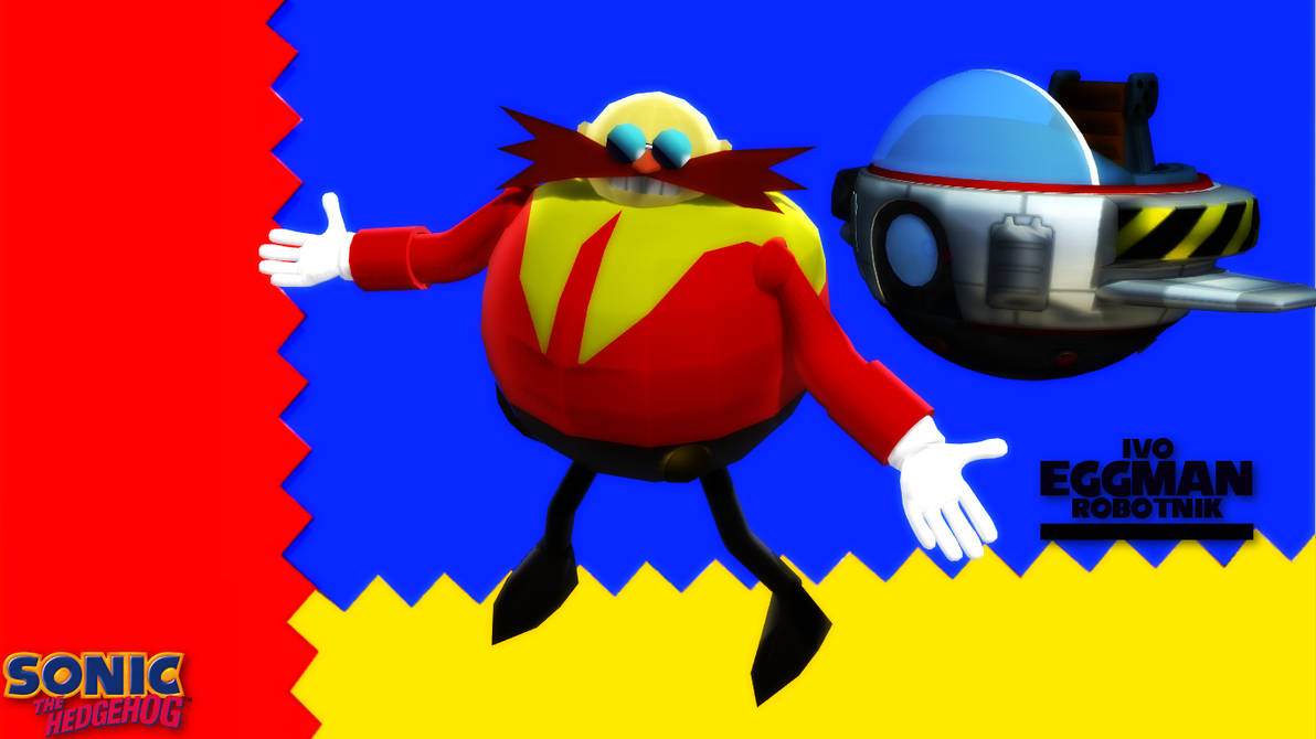 MMD/FBX Model) Dr  Eggman Classic Download by SAB64 on