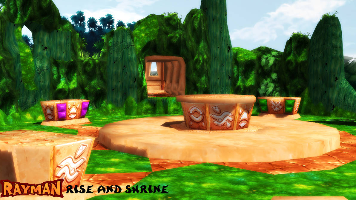 MMD/OBJ Stage) Rise and Shrine Download by SAB64 on DeviantArt