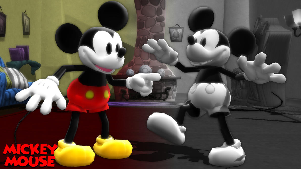 mmd model) mickey mouse classic downloadsab64 on deviantart