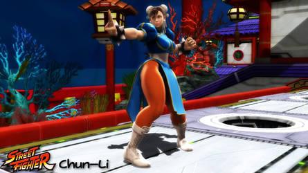 (MMD Model) Chun-Li Download by SAB64