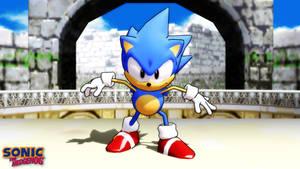 (MMD/FBX Model) Sonic the Hedgehog (Animation) DL by SAB64