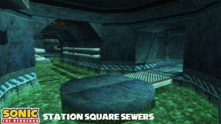(MMD Stage) Station Square - Sewers Download by SAB64