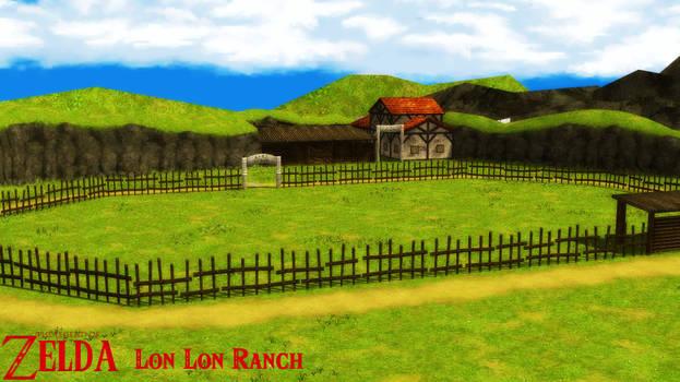 (MMD Stage) Lon Lon Ranch Download