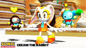 (MMD Model) Cream the Rabbit (2.0) Download by SAB64