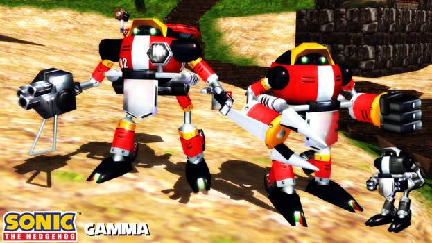 (MMD/XPS Model) E-102 Gamma (SADX) Download