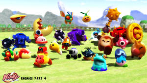 (MMD/XPS Model) Kirby Enemies, Part 4 Download by SAB64