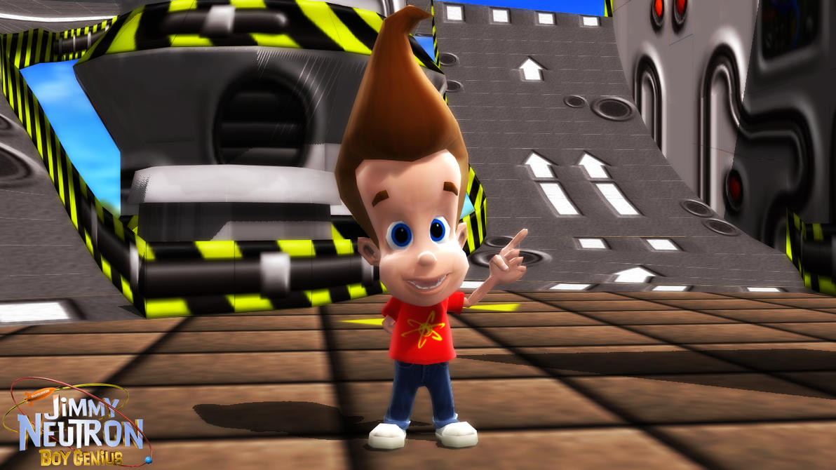 (MMD/XPS Model) Jimmy Neutron Download by SAB64