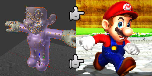 My Work Process: Converting Models for Use in MMD by SAB64
