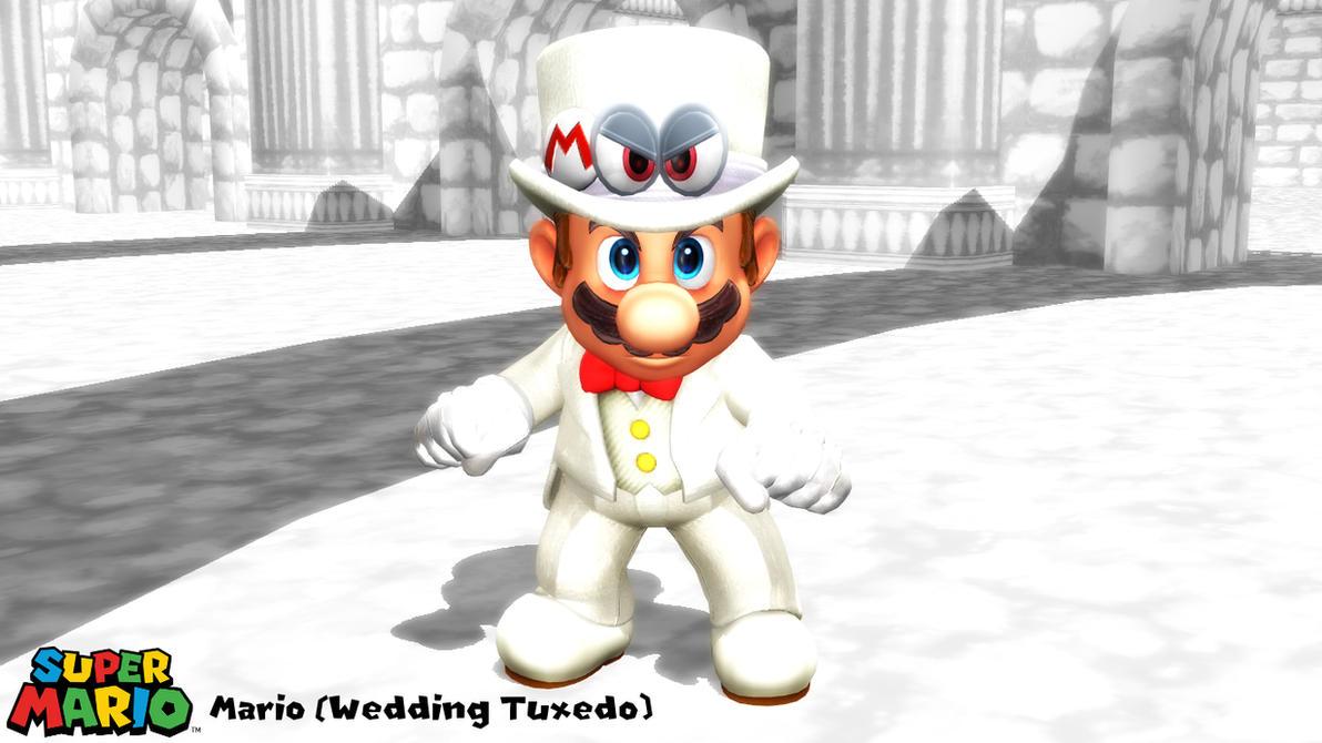 (MMD/XPS Model) Mario (Wedding Tuxedo) Download by SAB64