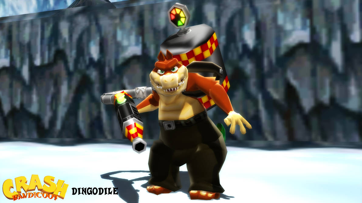 MMD/XPS Model) Dingodile Download by SAB64 on DeviantArt