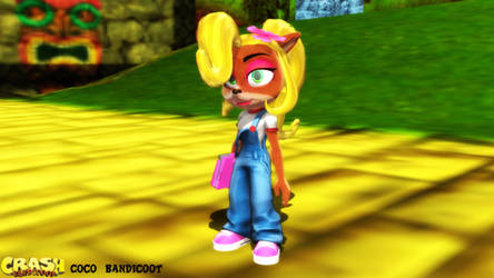 (MMD/XPS Model) Coco Bandicoot (N. Sane) Download by SAB64