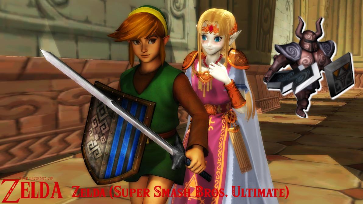 (MMD Model) Zelda (SSBU) Download by SAB64
