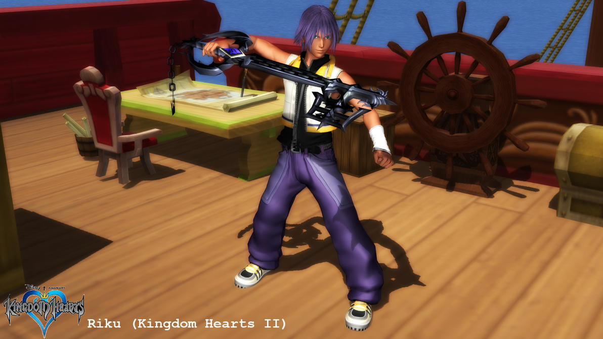 (MMD Model) Riku (Kingdom Hearts II) Download by SAB64