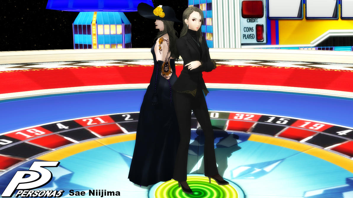 (MMD Model) Sae Niijima Download by SAB64
