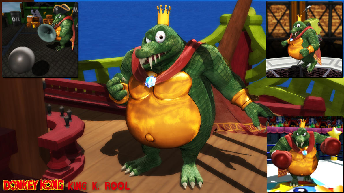 (MMD Model) King K. Rool (SSBU) Download by SAB64