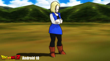 (MMD Model) Android 18 Download by SAB64