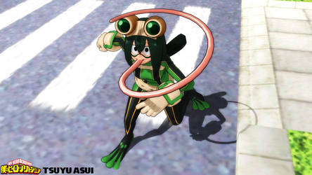 (MMD Model) Tsuyu Asui Download by SAB64