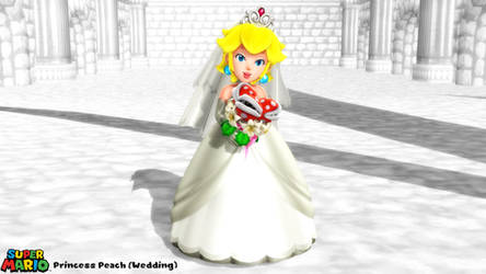 (MMD Model) Princess Peach (Wedding) Download by SAB64