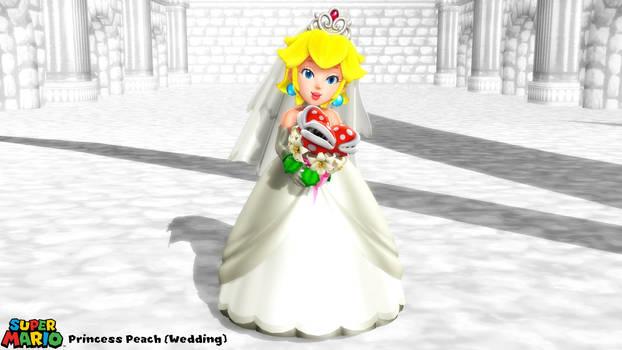 (MMD Model) Princess Peach (Wedding) Download by SAB64