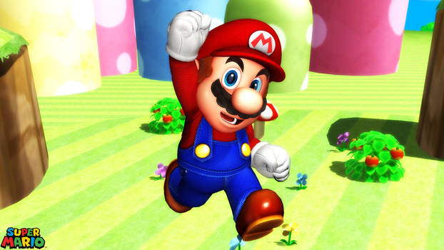 (MMD Model) Mario (High Quality) Download by SAB64