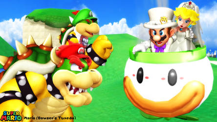 (MMD Model) Mario (Bowser's Tux) Download by SAB64