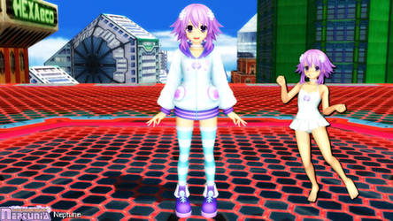 (MMD Model) Neptune Download by SAB64