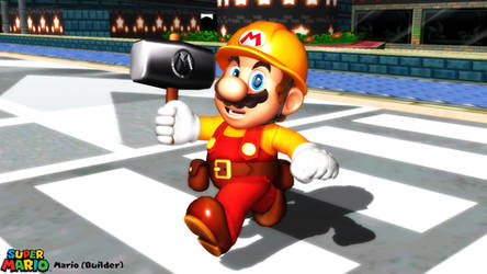 (MMD Model) Mario (Builder) Download by SAB64