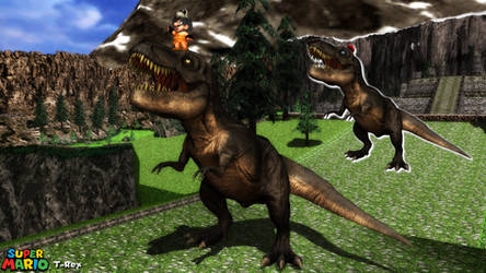 (MMD Model) T-Rex Download by SAB64