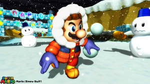 (MMD Model) Mario (Snowsuit) Download