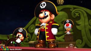 (MMD Model) Mario (Pirate) Download