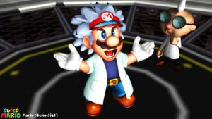 (MMD Model) Mario (Scientist) Download