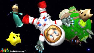 (MMD Model) Mario (Spacesuit) Download