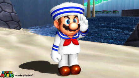 (MMD Model) Mario (Sailor) Download