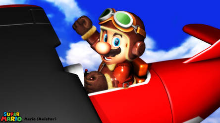 (MMD Model) Mario (Aviator) Download